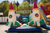 alquiler Castillo hinchable cohetes