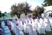Alquiler de sillas con funda bodas